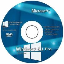 Cd Formatação Wind©ws 8.1 Pro 64 Bits + Brinde + Frete