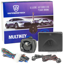 Alarme Automotivo Defendertech Multikey Carro Chave Original