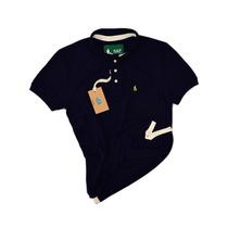 Camisa Camiseta Polo S&f Varias Cores Original + Frete