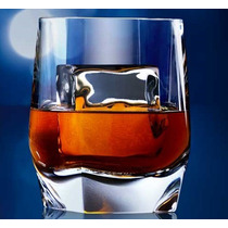 Copo Cristal Whisky Johnnie Walker Blue Label Original Logo.