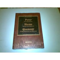 Livro ,,, Os Economistas Petty , Hume , Quesnay Lacrado
