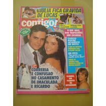 Revista Contigo Cláudia Raia Francisco Cuoco Gal Costa