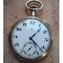 Relógio Omega Antigo Grand Prix1900 - Prata- Lance Livre !!!