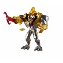 Boneco Max Steel Mega Elementor Metal - Mattel