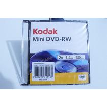 Mini Dvd-rw Kodak 1.4gb - 30min - Regravável Com Caixinha