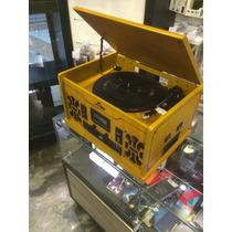 Vitrola Retrobee - Vinil/am/fm/cd Mp3/aux/cassete/ Usb