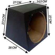 Caixa De Som Específica Para Alto Falante De 10 Polegadas