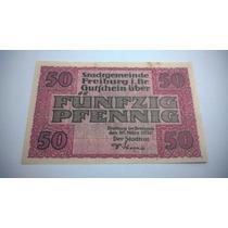 Cédula Notgeld 50 Pfennig 1920 - Lt0078