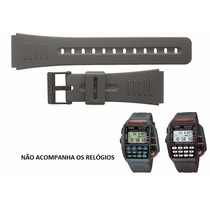 Pulseira Casio Controle Cmd-40 Dbc-150 Preta Similar 22mm