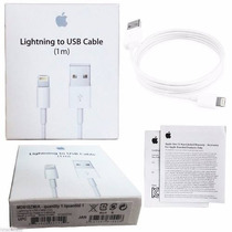 Cabo Usb Apple Iphone 5 5c 5s 5w Original