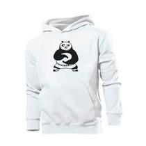 Blusa Kung Fu Panda Moletom Canguru Otima Qualidade!