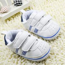 Sapato Tênis Bebê Couro Ecológico Baby Shoes