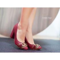 Sapato Salto Alto Scarpin Festa Exclusivo Varias Cores Lindo
