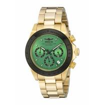 Relógio Invicta 17315 Speedway Ouro 18k ! Aventandor Import