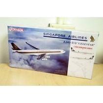 Miniatura Avião - Singapore Airlines A340-300 - Dragon Wings