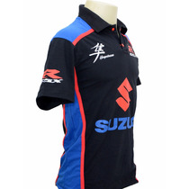 Camiseta Camisas Gola Polo Moto Susuki Gsx Hayabusa