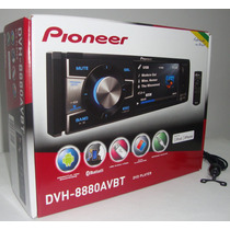 Dvd Player Pioneer Dvh-8880avbt Bluetooth Usb + Camera De Re