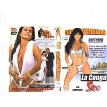 Dvd Brasileirinhas Gretchen La Conga, Sexo Anal, Original