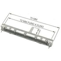 Potenciometro Deslizante D10kx2 Mesa De Som Yamaha, Roland