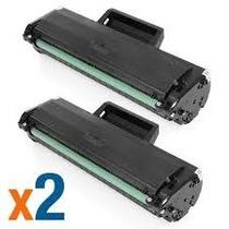Kit C/ 2 Toner Compatível Mlt-d101s 101s | Ml2160 Ml2165