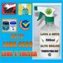 Super Kit Lavagem Carro Seco Lava E Encera Com Alto Brilho