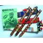Quena Profissional De Jacarandá Aymara - Flauta Andina