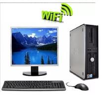 Computador Dell E Monitor 15'' Dual 2gb Hd 80gb Wifi