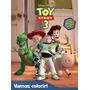 Livro Disney Vamos Colorir Toy Story 3
