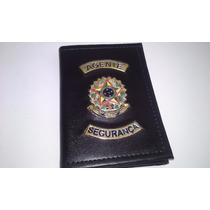 Carteira Porta Funcional Agente De Segurança,vigilante