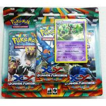 Pokemon Punhos Furiosos (c/ 3 Boosters E 1 Carta Promo)
