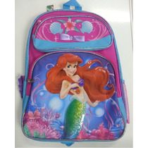 Mochila Princesas Disney, A Pequena Sereia, Ariel - 627669