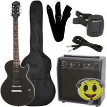 Guitarra Epiphone Les Paul Special Kit Completo Kadu Som