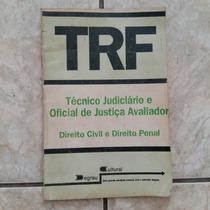 Livro Trf Técnico Judiciário E Oficial De Justiça Avaliador