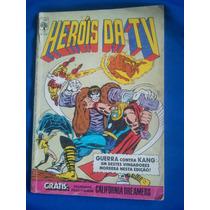 Gibi Heróis Da Tv Número 77 - Editora Abril - 1985