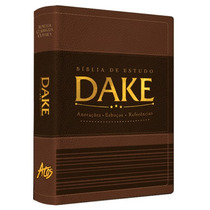 Bíblia De Estudo Dake Marrom