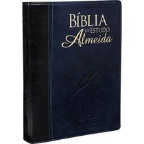 Bíblia De Estudo Almeida Grande Luxo Nova Edição 17x 24,5