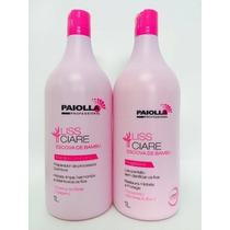 Escova Progressiva + Shampoo Sem Formol De Bambu Paiolla