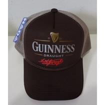 Boné Guinness Beer Trucker Cap Cerveja Retrô