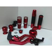 Xj6 Kit Sliders Tampas Motor Óleo Manete Peso Manopla