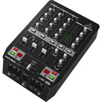 Mixer P/dj Behringer Vmx 300 Usb 3 Canais Vmx300usb Original