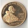 Estados Unidos 5 Dolares 1997,8,35 Gr Ouro 900 Roosevelt