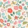 Papel Vinílico Floral Bonito P 55x300cm