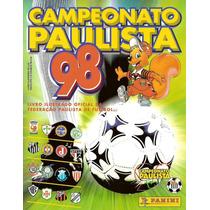 Álbum De Figurinhas Digitalizado Campeonato Paulista 1998