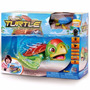 Robo Turtle Playset Dtc - Aquario + Tartaruga