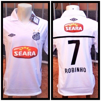 542310f26a9e8 Camisa Do Santos Seara            Robinho