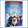 Dvd + Cd Frozen - Uma Aventura Congelante - Original Lacrado