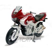 Yamaha Tdm850 2001 Esc.1:18 Welly Moto Promoção