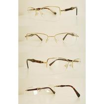 Armação Óculos De Grau Pierre Cardin Feminina Masculina Leve