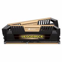 Memória Corsair 8gb 1600mhz Vengeance Pro (2x4gb) Dourada