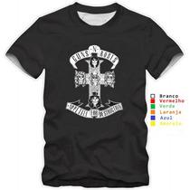 Camiseta, Camisa Personalizada Guns N